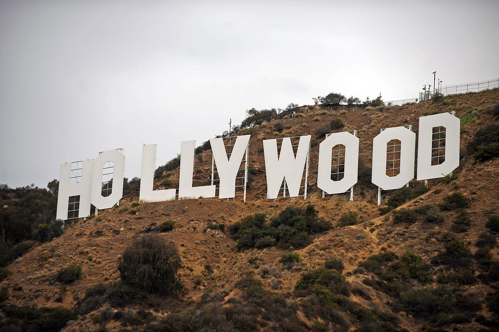 . The Hollywood sign is celebrating its 90th anniversary this year. (Andy Holzman/Los Angeles Daily News)