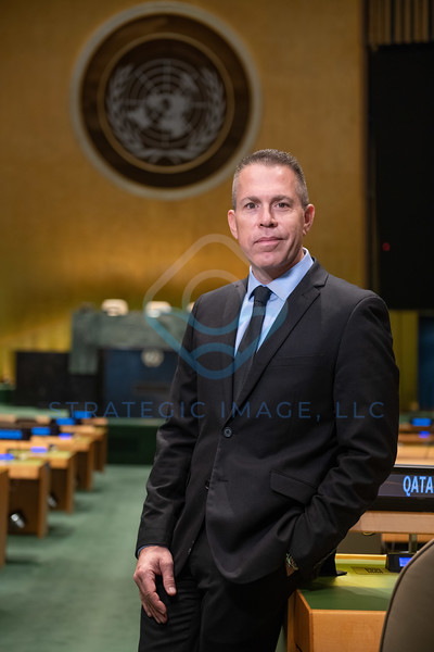 2020 Israel Ambassador to the UN Gilad Erdan portrait at the UN