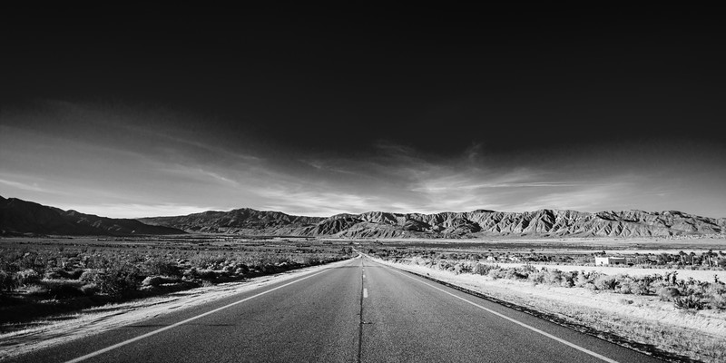 Road to Anza-Borrego