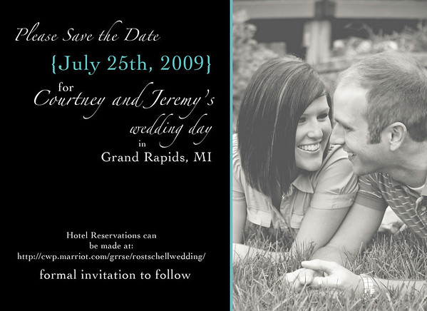 Save the Date - Courtney and Jeremy