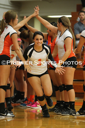 La Porte Varsity Volleyball vs Pasadena Memorial 9/3/2013