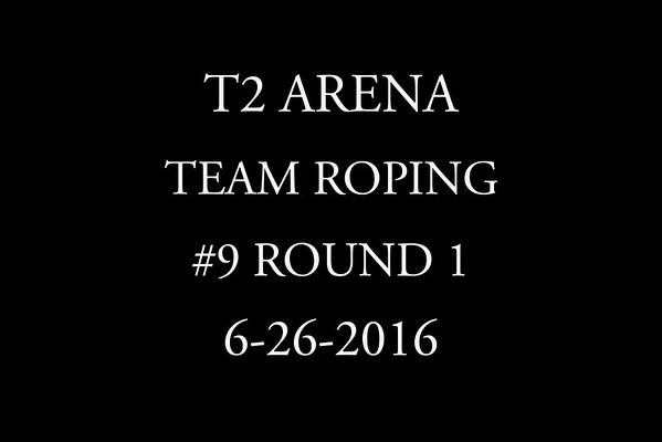6-26-2016  Team Roping  #9 Round 1