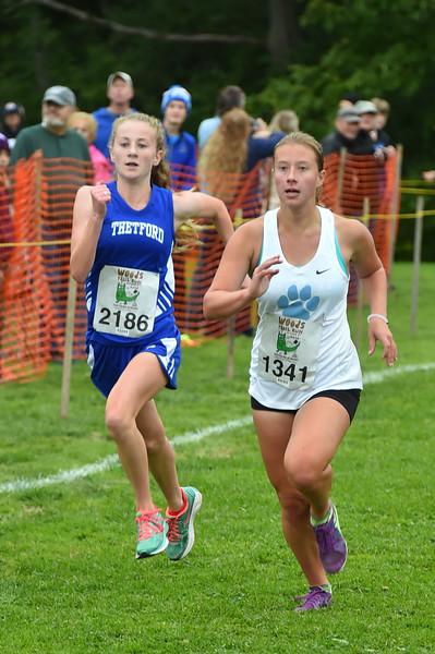 Girls 3 Woods Trail Run 2016-10-01