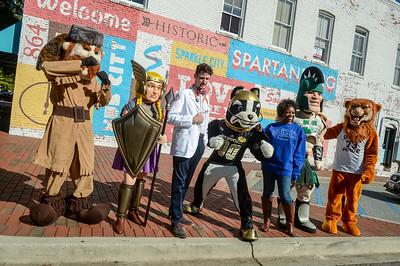 CollegeTown Mascots