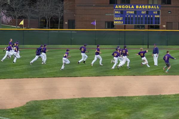 AHS JV Baseball vs Fremont