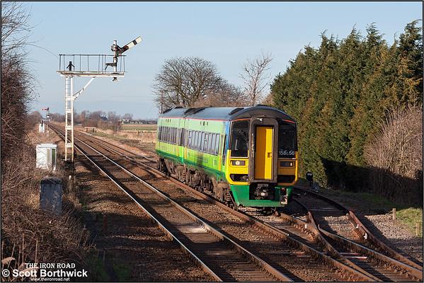 Class 158 (BREL Express Sprinter): Central Trains