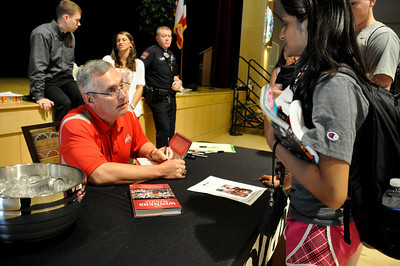 Celebrity Signing Series - Jim Tressel - May 5, 2010