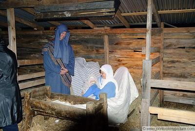 2009 12 06 BBC Trip to Bethlehem Display