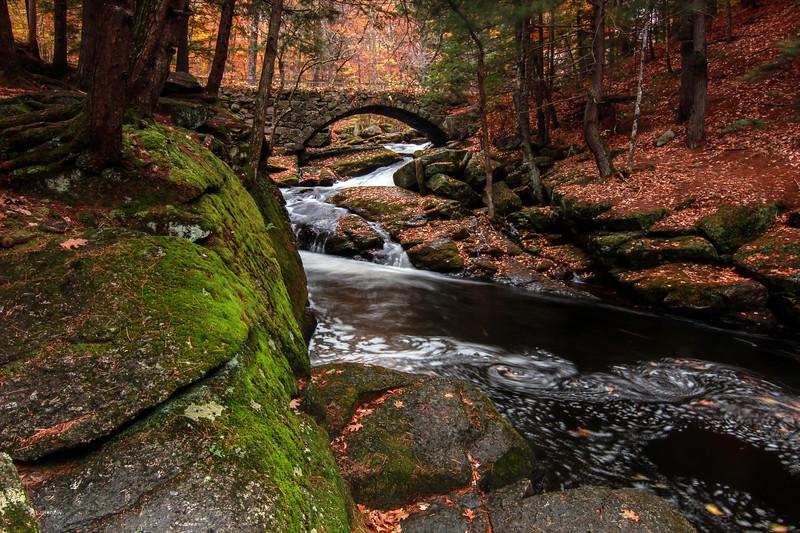 Gleason Falls Stone Bridge