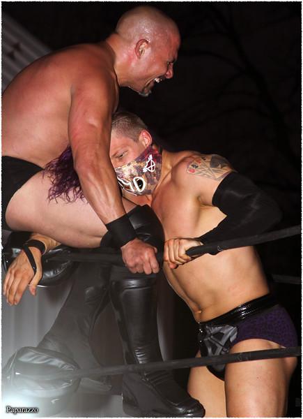 "Ace Austin vs. ""The Greek God"" Papadon during Invictus Pro Wrestling's ""November Reign"" event held on November 7, 2020 at the Nex Level Arena in Flemington, New Jersey."