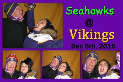 12-6 Seahawks @ Vikings