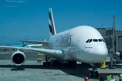 Emirates A380 NZ Inaugural (2009)