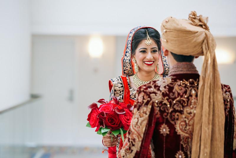 Le Cape Weddings - Indian Wedding - Day 4 - Megan and Karthik First Look 14.jpg