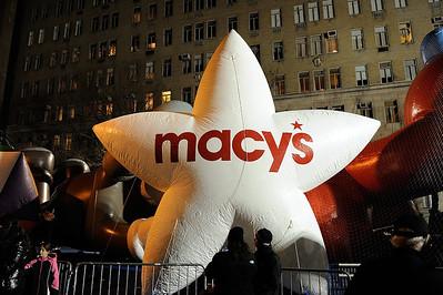 Macy's Thanksgiving Parade Balloons - 2012