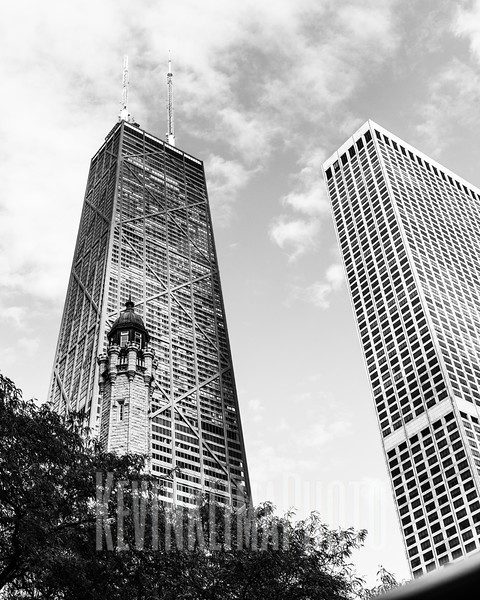 Looking up in Chicago.