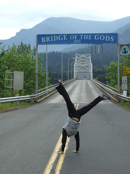 Tracy Mcfarlane - Bridge of the Gods, Washington