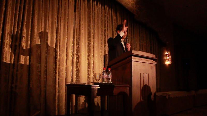 Movie - Santorum Speech Ending with Standing Ovation.MOV