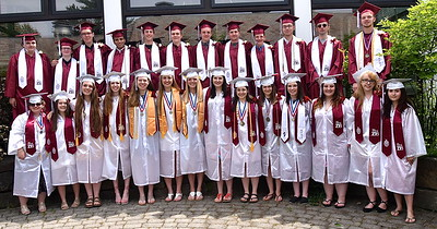AMHS 2018 Graduation I photos by Gary Baker