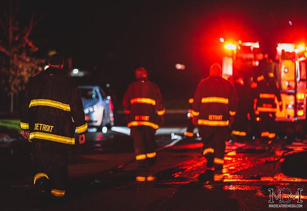 Detroit MI, House Fire 4-16-2020