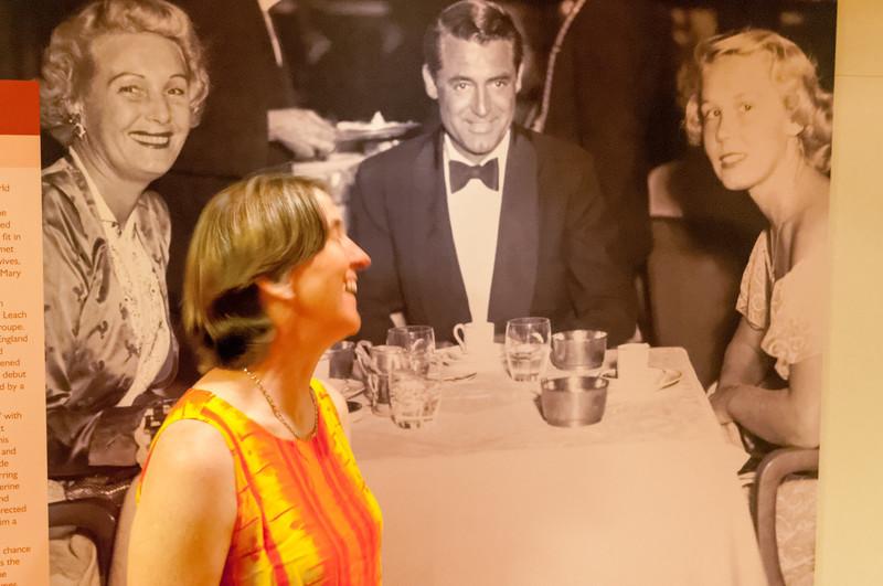 Helga meets Cary Grant.