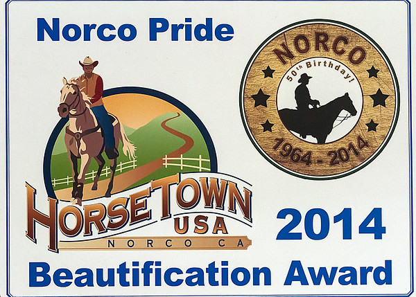 2014 Norco Beautification Awards