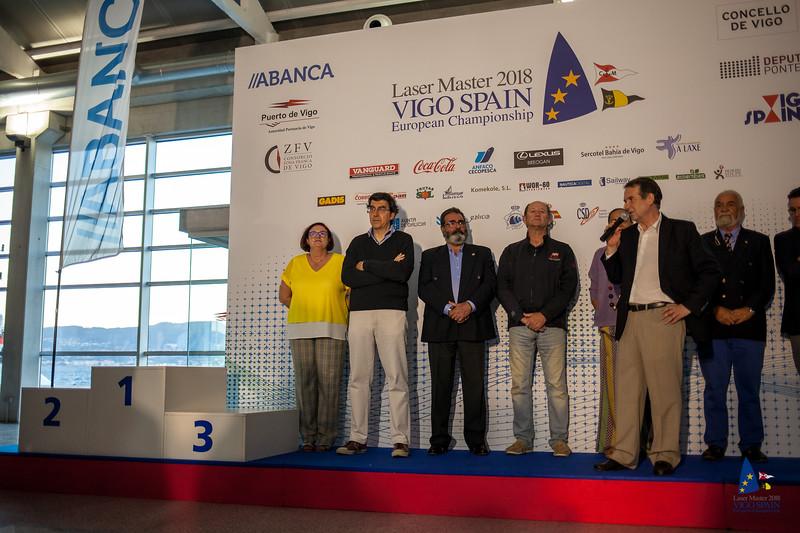 CONCELLO DE VIGO DEPUTA PONTE //ABANCA Laser Master 2018 VIGO SPAIN European Championship Puerto de Vigo sp IS Autoridad Portuaria de Vigo ZFV SA LAXE CZNY CONSORCIO ZONA FRANCA DE VIGO VANGUARD VANGUARD Coca-Cola LEXUS Sercotel Bahía de Vigo BREOGAN CACOPESCA ANPASCA Sailway Komekole, S.L. DWOR-60DAUTICAROTA coemba 8 ORE ana GADIS Corey BECALICIA