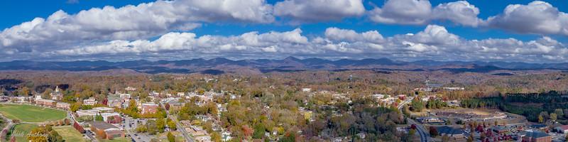 Dahlonega Georgia and the Blue Ridge Moutains