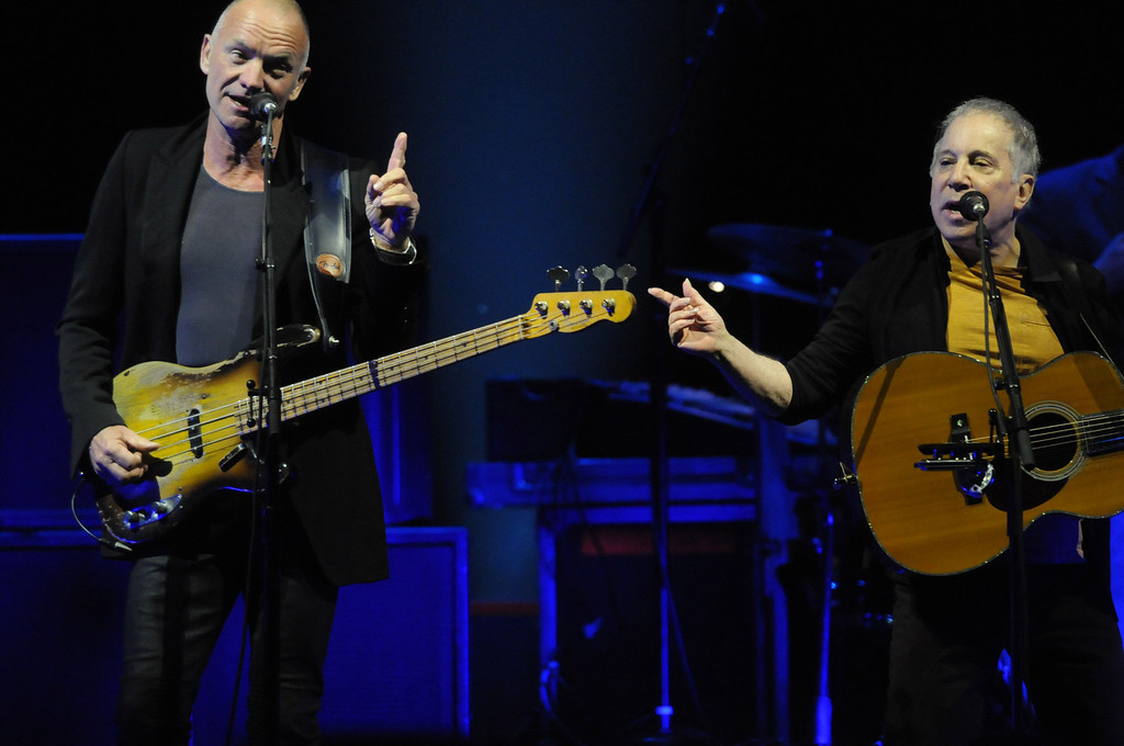 ". <p>9. PAUL SIMON & STING <p>Combined to sell more than 200 million records, and they�re so old that some of them were ACTUALLY records. (9) <p><b><a href=\'http://www.twincities.com/music/ci_25214461/sting-and-paul-simon-review-every-little-thing\' target=""_blank\""> HUH?</a></b> <p>   (Pioneer Press: Scott Takushi)"