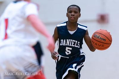 Martin vs Daniels Basketball