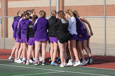 4.10.19 Girls Tennis - Brownsburg vs Fishers