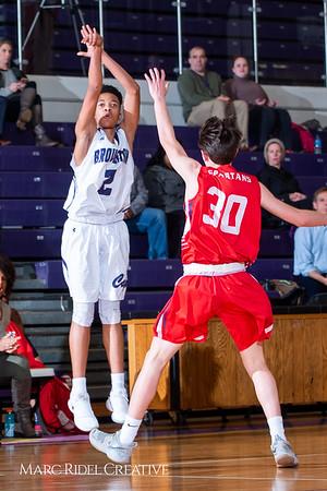 Broughton boys JV basketball vs Sanderson. February 11, 2019. 750_5640
