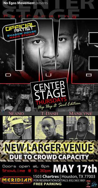 Dub Center Stage Thursdays hosted by No Egos