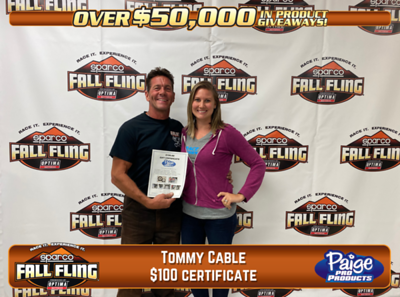 2020 Sparco Fall Fling presented by Optima