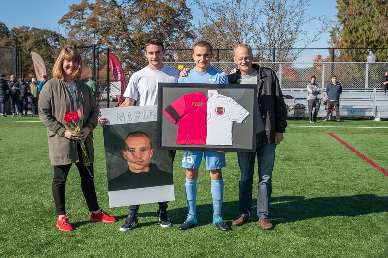 Men's Soccer Senior Day
