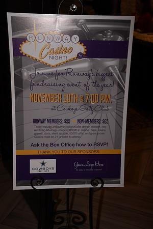 11-10-2018 Casino Night - Runway Theatre @ Cowboy's Golf Club