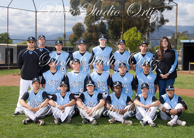 Baseball Varsity Team Photos