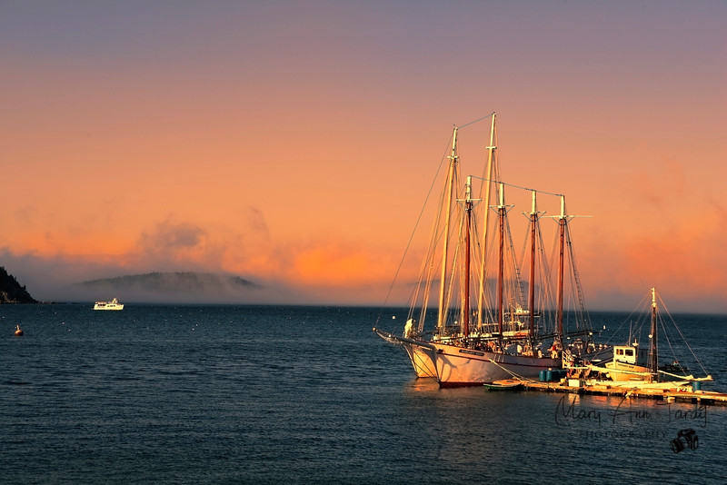 Schooners, Bar Harbor Maine