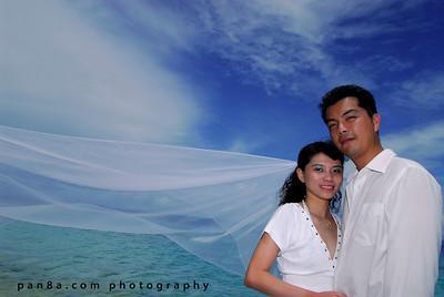 Valerie-Andrew in Mataking Island, Sabah