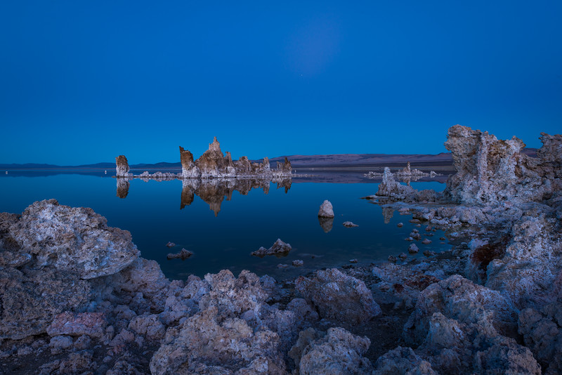 Walking on the Moon at Mono Lake California