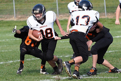 Middle School Football vs Homer