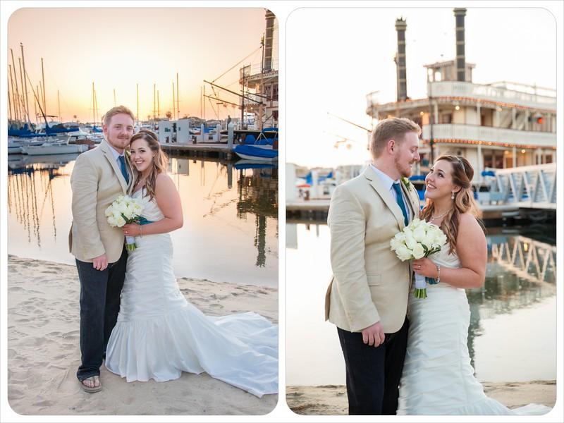 Bahia Resort San Diego - Beach Wedding Ceremony William D Evans Boat Reception-7461 bride groom boat.jpg