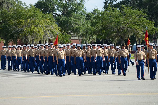 Kylor USMC Graduation - Parris Island, SC