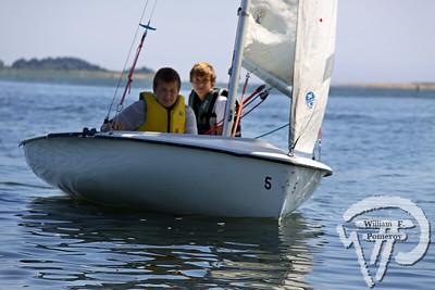 Jr. Sailing — afternoon — 8 . 14 - 2009