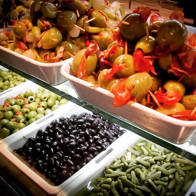 olives madrid spain