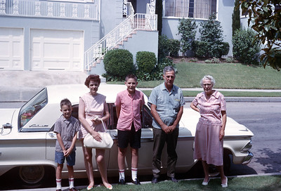 1964 - Family-Various Trips