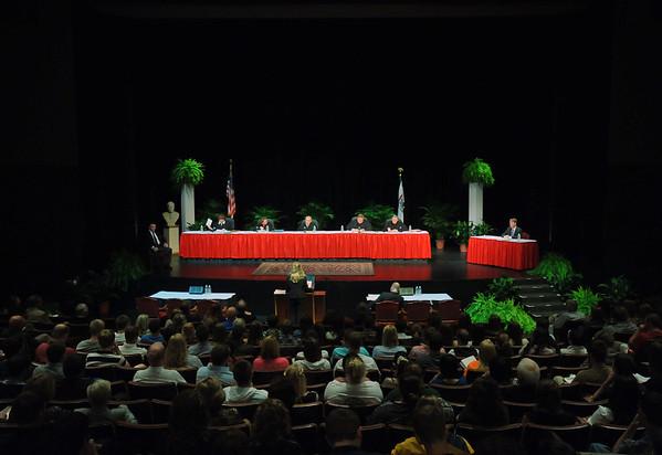 WV Supreme Court session at Marshall University - 2012