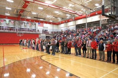 High School Basketball - 2/23/2018 Parents Night