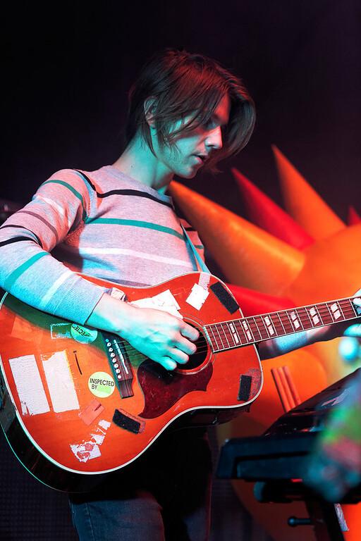. Flaming Lips guitarist at Fillmore Detroit on 6-12-14