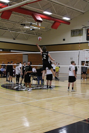 4-30 Varsity Boys Volleyball vs Pattonville