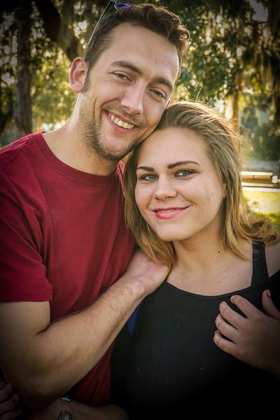 Cottee River Walk Couple, NPR FL 2 16 2016